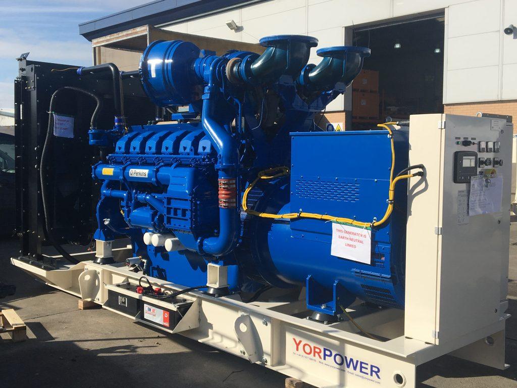 Brushless UK Perkins Silent Type Diesel Generator Genset