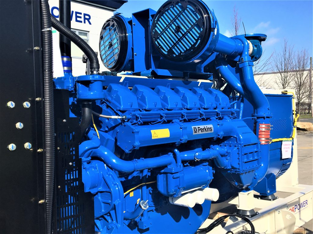 Perkins Generators UK, Asia, Africa - House Built by YorPower