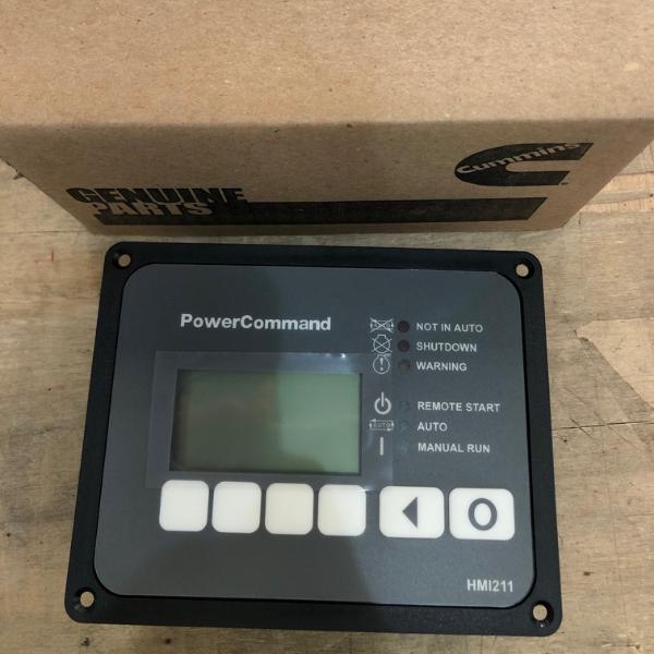 Cummins control panel
